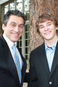 Jim and his son AJ