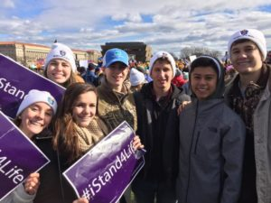 Millennials at March for Life